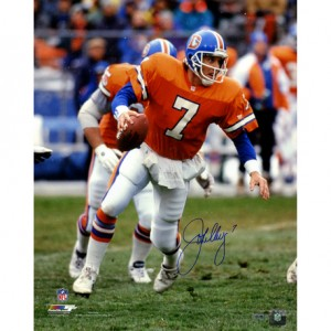 John Elway Denver Broncos Autographed Super Bowl 16x20 Photo