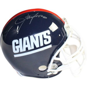 Lawrence Taylor Autographed New York Giants Authentic Linebacker Helmet