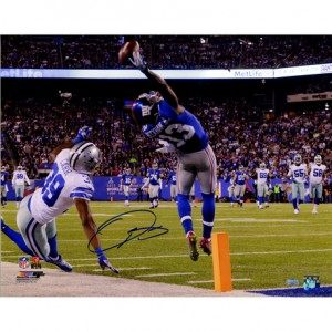 Odell Beckham Jr. Autographed One-Handed Touchdown Catch