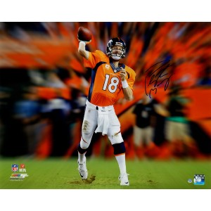 Peyton-Manning-Autographed-Denver-Broncos-Throwing-Motion-Blast