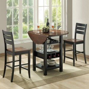 counter-dinette-Mahogany-black