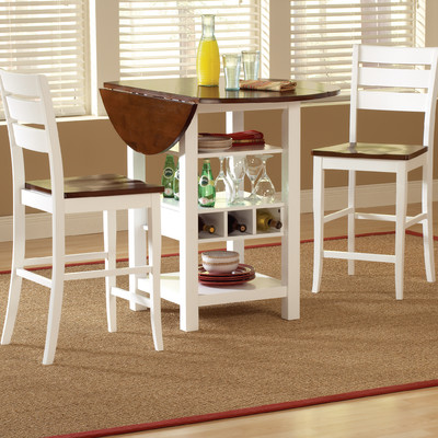 counter-dinette-Mahogany-white