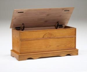 oak cedar chest